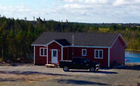 For Sale:  1200 SQ. Foot Newly Constructed Cabin - Salmonier