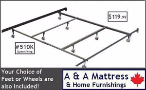METAL BED FRAMES! Save The TAX * Canadian Made & BUILT TO LAST London Ontario image 2