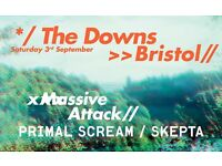 2 tickets for sold out Massive Attack gig