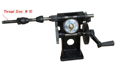 New Black Manual Hand Coil Winder Winding Counting Machine Nz-5