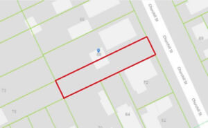 Lot for sale in downtown St. Catharines!