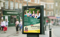 Design your Advertising & Marketing Materials in Low Price