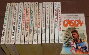 Casca - 15 Casca novels by Barry Sadler