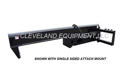 New 35 Ton Log Wood Splitter Attachment For Bobcat Skid Steer Track Loader