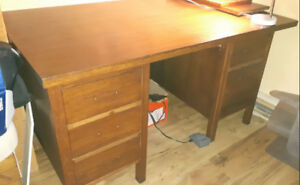 Antique office desk