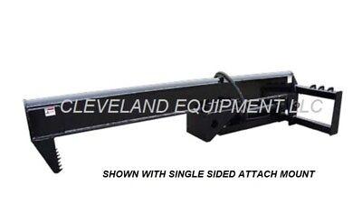 New 35 Ton Log Wood Splitter Attachment Skid Steer Loader Forestry Tree Shear