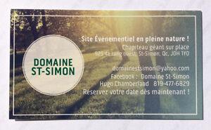 Apportez votre vin, fête,chapiteau,salle,anniversaire,Mariage Saint-Hyacinthe Québec image 8