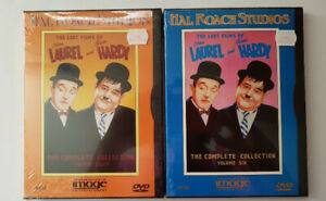 The Lost Films of Laurel and Hardy:  Volume 6 and 8 sealed, new