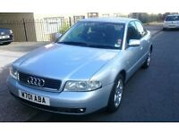 AUDI A4 2.5 TDI QUATTRO FULL LEATHER INTERIOR 200K MILES HENCE PRICE JUST £650 ONO!!!