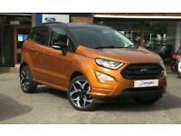 2018 Ford Ecosport ST-LINE 1.0T ECOBOOST 125PS Manual Hatchback Petrol Manual
