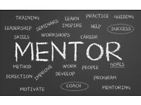 Personal or business mentoring , counselling and coach