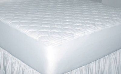 Newpoint Home Deluxe 250-Thread-Ct Cotton Damask Stripe Full Mattress Pad - -