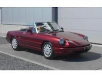 1991 Alfa Romeo Spider 2.0I Auto 38300 miles Red LHD