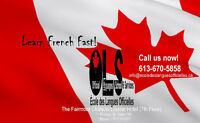 FRENCH ALL LEVELS - DAY & EVENING CLASSES - REGISTER NOW!