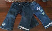 Jeans and Hawaiian shorts Size 18 - 24