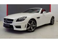 Mercedes Benz SLK 55 AMG, Metallic Diamond White, Left Hand Drive, Registered in Spain