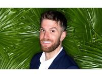 2 x tickets for Joel Dommett stand-up show in Portsmouth 22/4