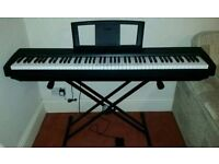 Yamaha P-35B Keyboard 88 key - with stand