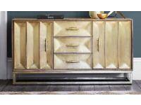Gold/brass sideboard / dresser