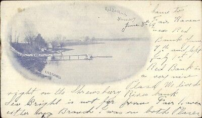 Red Bank Nj C1900 Private Mailing Card