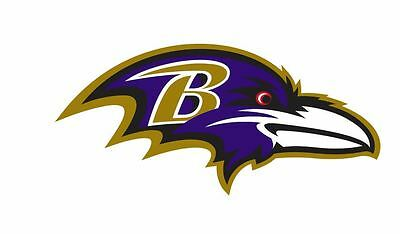 Baltimore Ravens Sticker Decal S8 YOU CHOOSE SIZE (Baltimore Ravens Dekorationen)