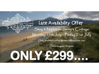 Late July Availability @ Millers Close
