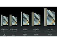 I want to buy all ipads any size any colour I want to buy all any size any colour
