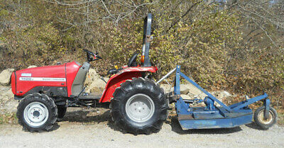 Massey Ferguson 1428v W 42cutter. 4wd Power Steering Used Tractor Athens Oh