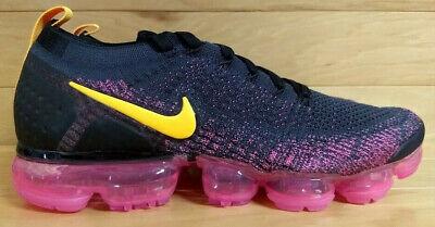 f50a5ce043 Nike Air Vapormax Flyknit 2 Size 12 Gridiron Laser Orange Pink Black  942842-008