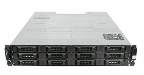"Dell PowerVault MD3200 SAS Direct Attach Storage Array DAS 12x 3.5"" 2xController"