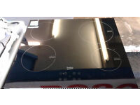 a101 black beko ceramic induction hob new graded with 12 month warranty can be delivered