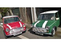 GENUINE ROVER MINI COOPER 1.3SPI RED WITH WHITE ROOF