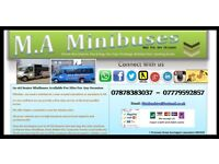 MINIBUSES AIRPORT TRANSFER SERVICES WEDDINGS BUSES PARTY BUS NIGHTS OUT MINI BUS HIRE PRIVATE HIRE 2