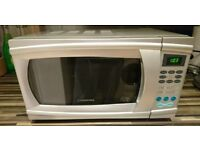 Cookworks D80H20AL Grill Touch Microwave