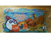 NEW! Baby Sponge Bath Support