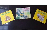 CURIOUS GEORGE BOOKS/ GORILLA BOOK