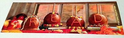 Halloween Reading Bookmarks (NEW! 12 CARAMEL APPLE