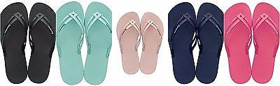Ipanema Tiras Womens Flip Flops Black, Mint, Navy, Nude and Pink
