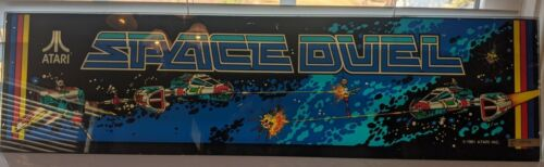 SPACE DUEL marquee original glass NICE