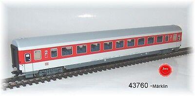 Märklin 43760 Großraumwagen Bpmz 293.2 der DB AG 2. Klasse #NEU in OVP#