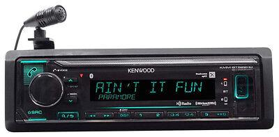 Kenwood KMM-BT522HD Single DIN Bluetooth SiriusXM Ready Digital Media Car Stereo