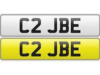 C2 JBE - private number plate - cherished plate
