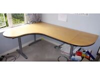 Desk - Corner Style - IKEA Galant - BARGAIN