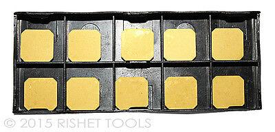 Rishet Tools Sekn-42 Aftn C5 Multi Layer Tin Coated Carbide Inserts 10 Pcs