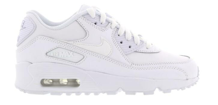 4cbd3a49f32 Nike Air Max 90 Leather GS 833412-100 Wit-36.5 | 2dehands.be