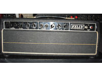 Kelly T&B treble and bass TnB T and B tube amplifier valve amp Selmer guitar hand wired for sale  Easton, Bristol