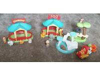 Happy land zoo set