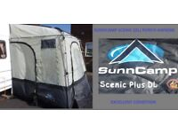 Caravan Awning Sunncamp Scenic DELUXE LARGE Porch Awning Light Weight BARGAIN.