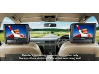 "NextBase in-car & portable DVD player kit - Twin 7"" monitors"