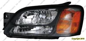 Head Lamp Driver Side Gt Outback Without Sport High Quality Subaru Legacy 2000-2004